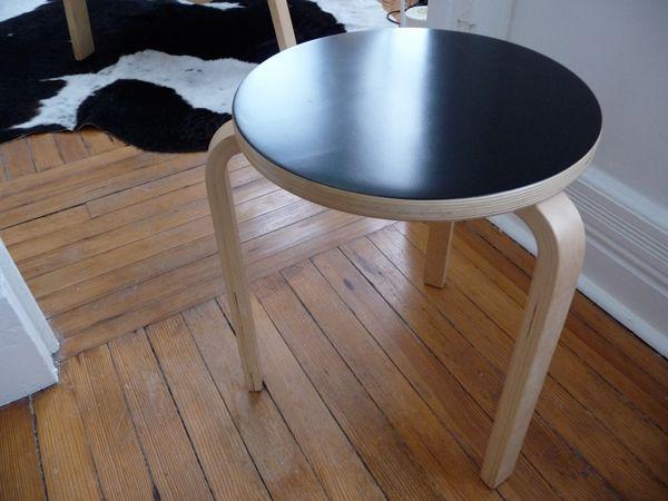 Frosta Krukje Ikea : Ikea frosta 4 legged stool hacked into aaltos 3 legged original