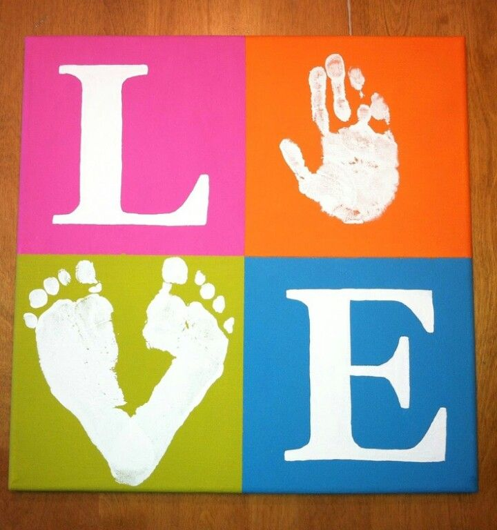 Canvas art - cute gift idea or room decor!