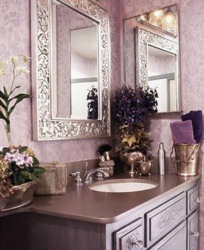 Ms Mandy M Gold Copper Blush Tones Inspiration Purple