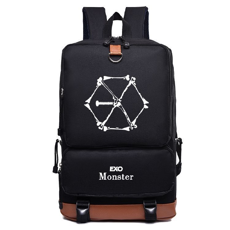 Exo Fromplanet Kris Luhan Sehun Canvas Travel Bag Schoolbag Backpack New Backpacks Luggage & Bags
