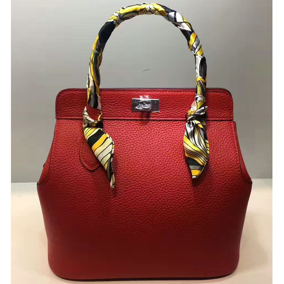 a00c527cafa0 Hermes Toolbox Bag 26cm Swift Leather Palladium Hardware In Red ...
