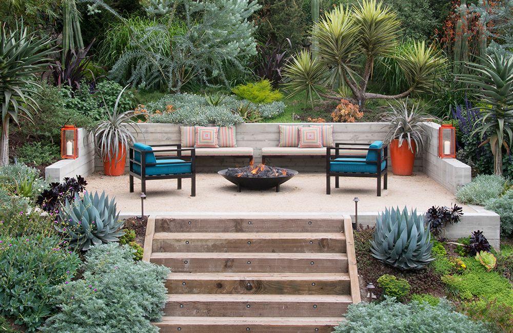 Landscape And Garden Design Garden Design Pictures Sloped Backyard Sloped Garden