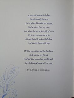 Wedding Reading Poem Simple And Beautiful