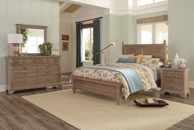 Laurel Gilchrist Poster Bedroom Set Weathered Grey In 2020 Bedroom Set Sleigh Bedroom Set Bedroom Posters