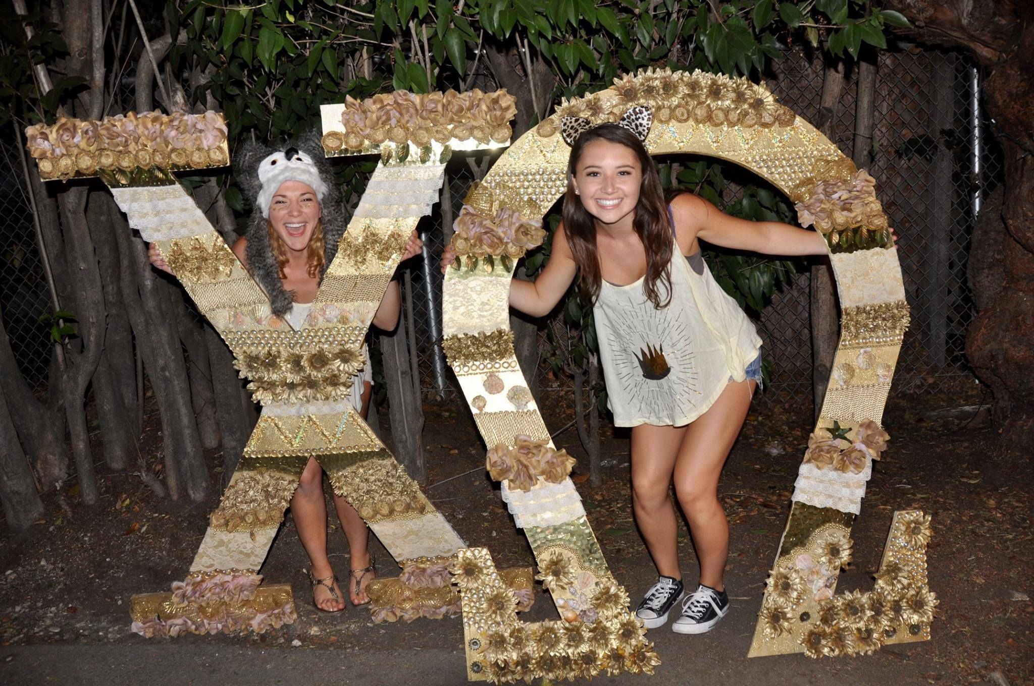 Where The Wild Things Are Bid Day 2015 Cal Poly Slo Chi Omega With Images Bid Day Fashion Flapper Dress