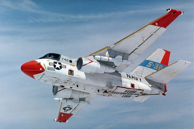 The Lockheed S-3 Viking is a four-seat twin-engine jet aircraft that was used by the U.S. Navy to identify and track enemy submarines. In the late 1990s, the S-3B's mission focus shifted to surface warfare and aerial refueling. The Viking also provided electronic warfare and surface surveillance capabilities to the carrier battle group. A carrier-based, subsonic, all-weather, multi-mission aircraft with long range.