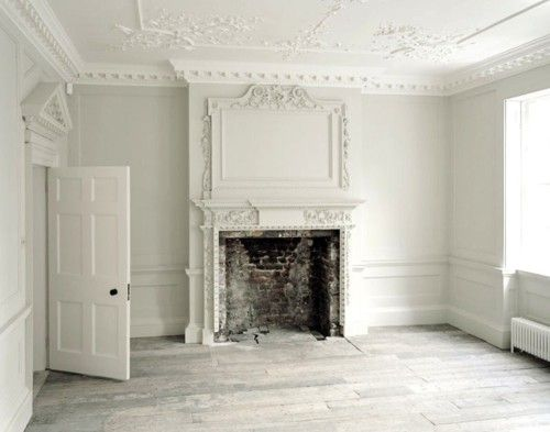 Unknown Georgian interior - white-on-white
