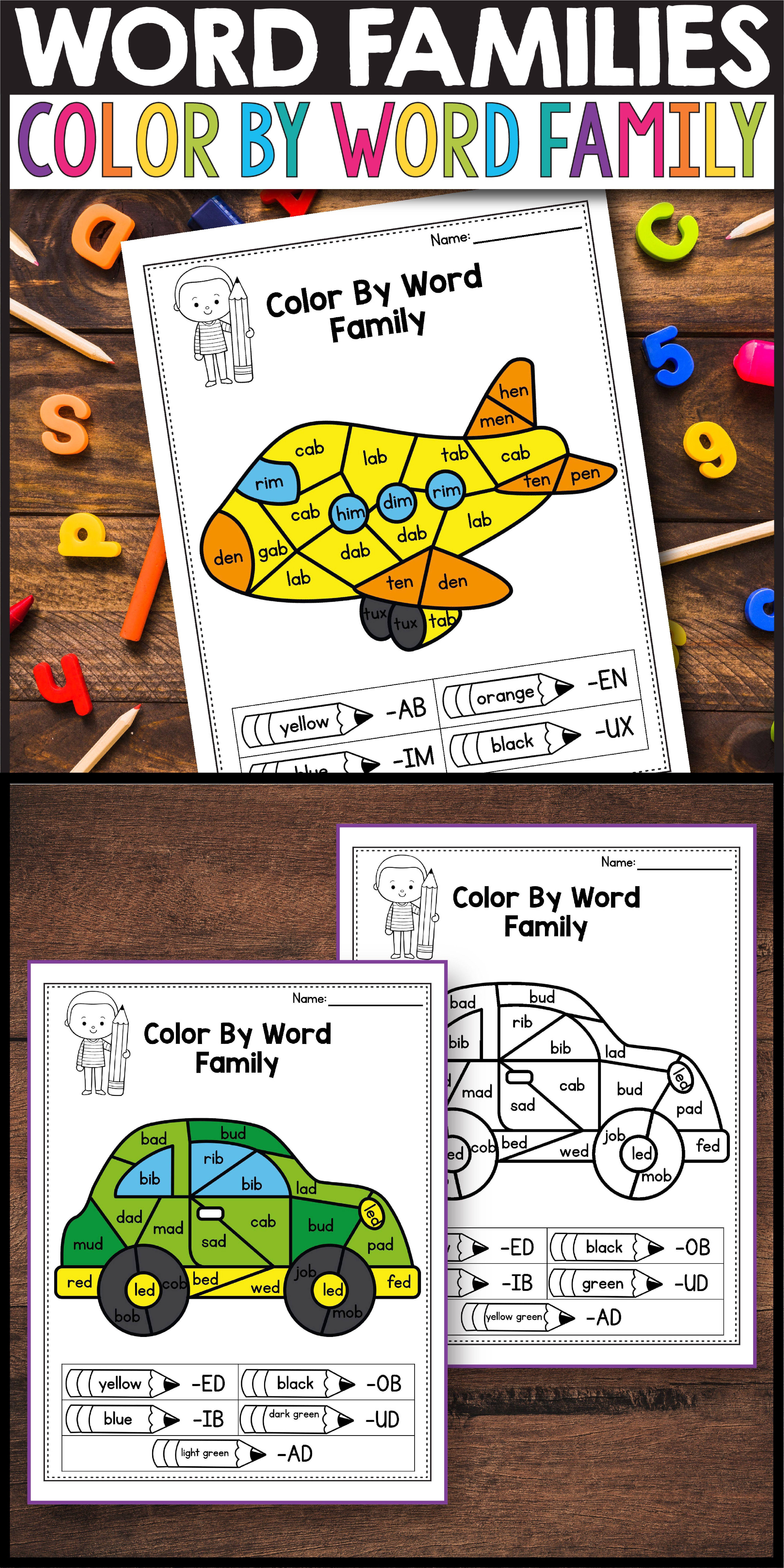 Ag Word Families Short A Cvc Words Cvc Words Blend Cvc Words Cvc Words Kindergarten [ 8334 x 4168 Pixel ]