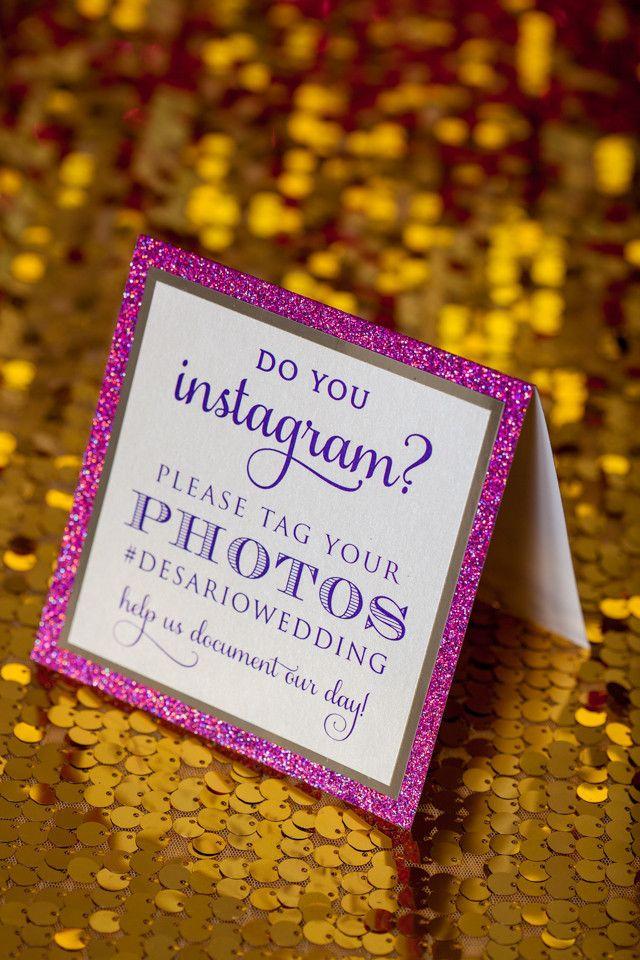 Custom Signs, Instagram Signs, Donation Signs, wedding