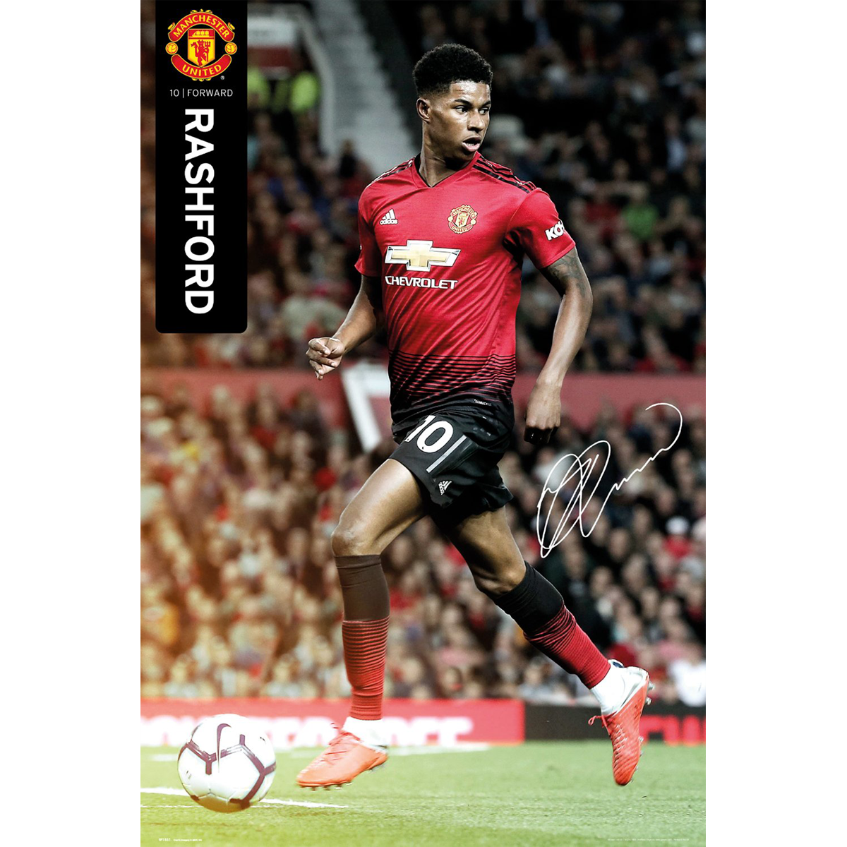 List of Nice Manchester United Wallpapers Rashford Manchester United Marcus Rashford Poster 18/19