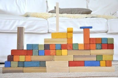 homemade block set