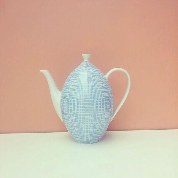 Vintage Kaffee - Teekanne Arzberg 60er Jahre von LeFlair auf - k chen weiss arzberg