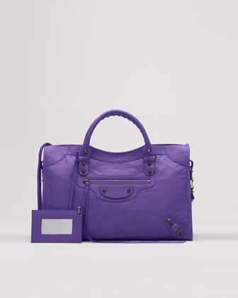 Because purple goes with everything...