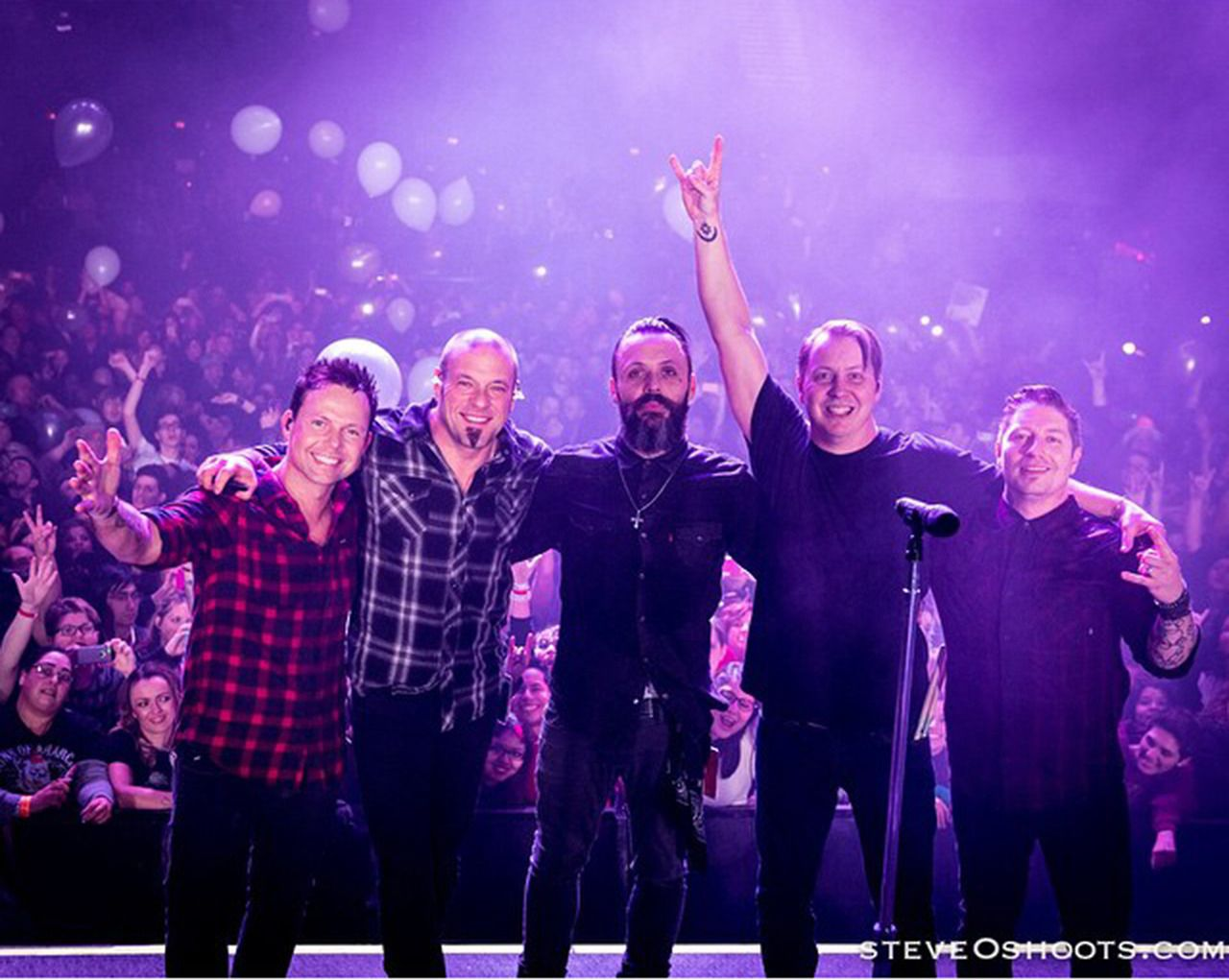 Blue October ringing in the New Year in Houston December