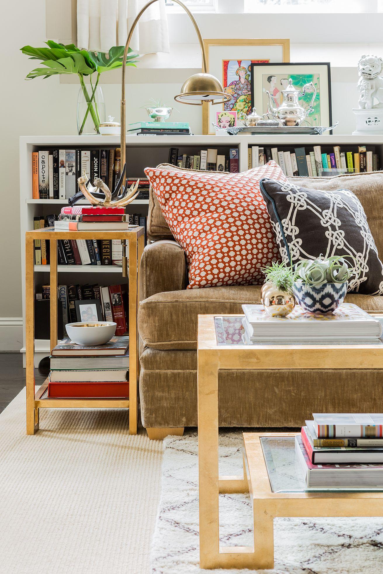 Best Portfolio Elements Of Style Blog Bookcase Behind Sofa 640 x 480