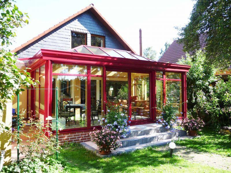 Holz Alu Wintergarten Mit Orangeriedach Tiny House Plan