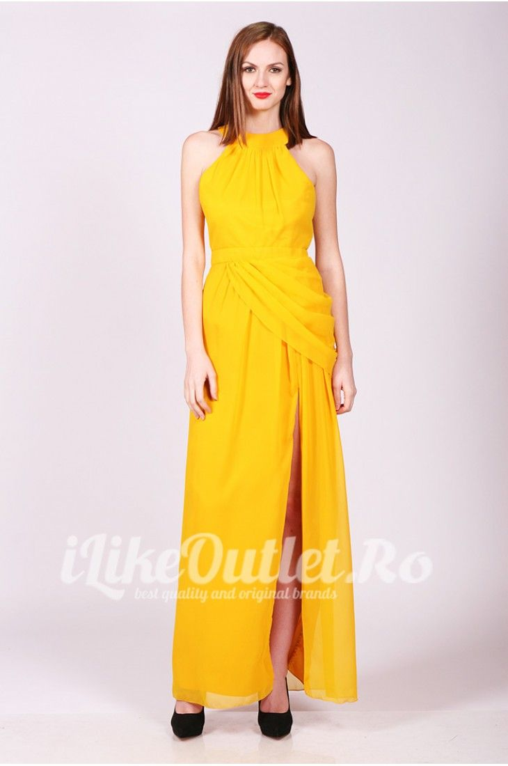 Yellow long dress Dresses Elegant Dress Pinterest Elegant