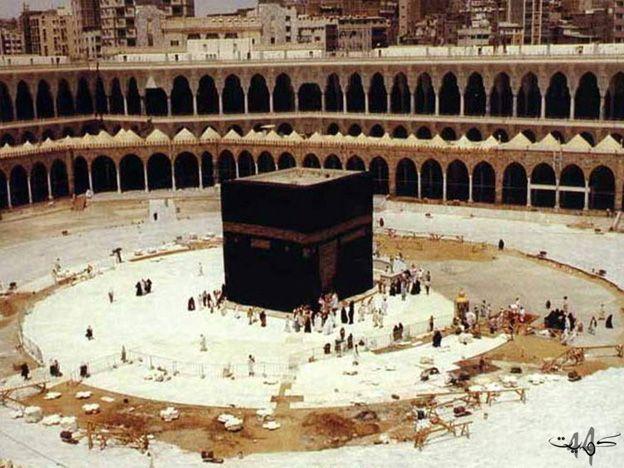 الحرم المكي قديما Medina Mosque Makkah Islamic Architecture