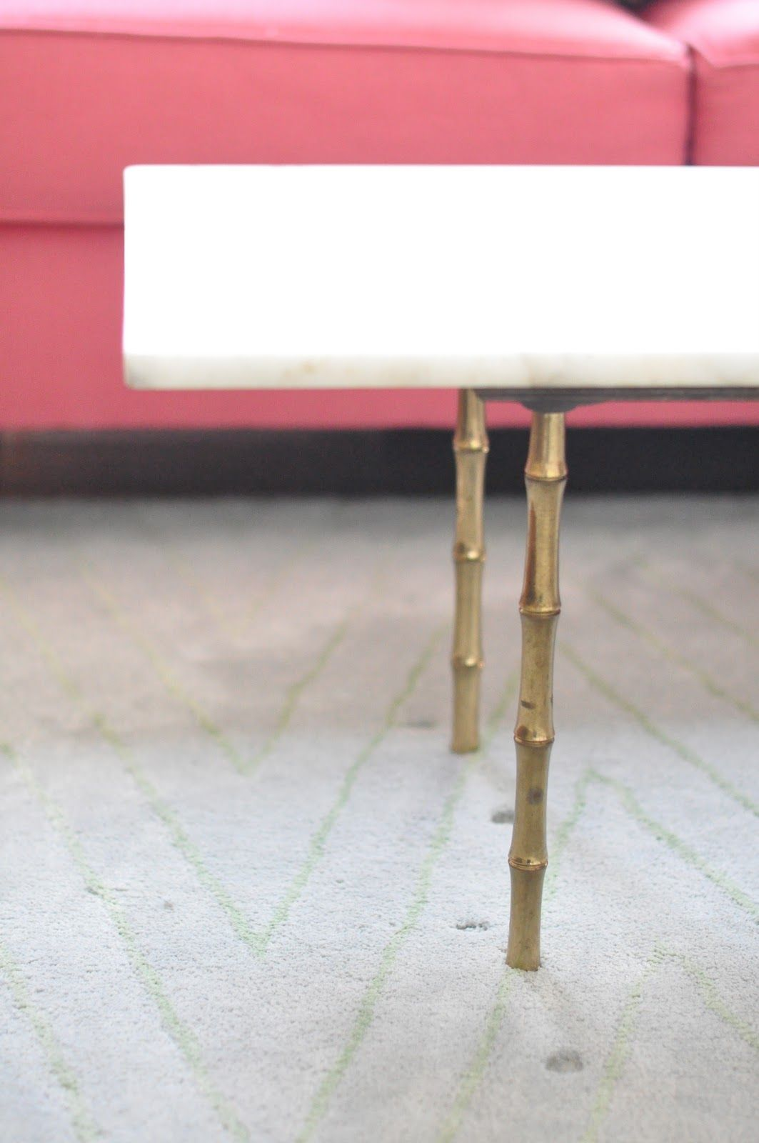 Gold Bamboo Table Legs For White Shelf Tables Also, An Idea For Vanity, But