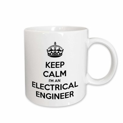 5694601d9 East Urban Home Keep Calm I'm an Electrical Engineer Coffee Mug ...