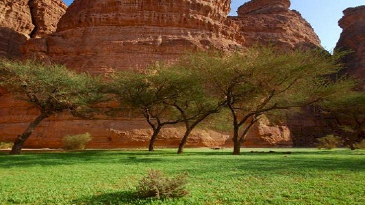 أين تقع العلا Monument Valley Natural Landmarks Landmarks
