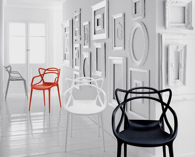 masters chair, designed by philippe starck for kartell. get the ... - Chaises Philippe Starck Kartell