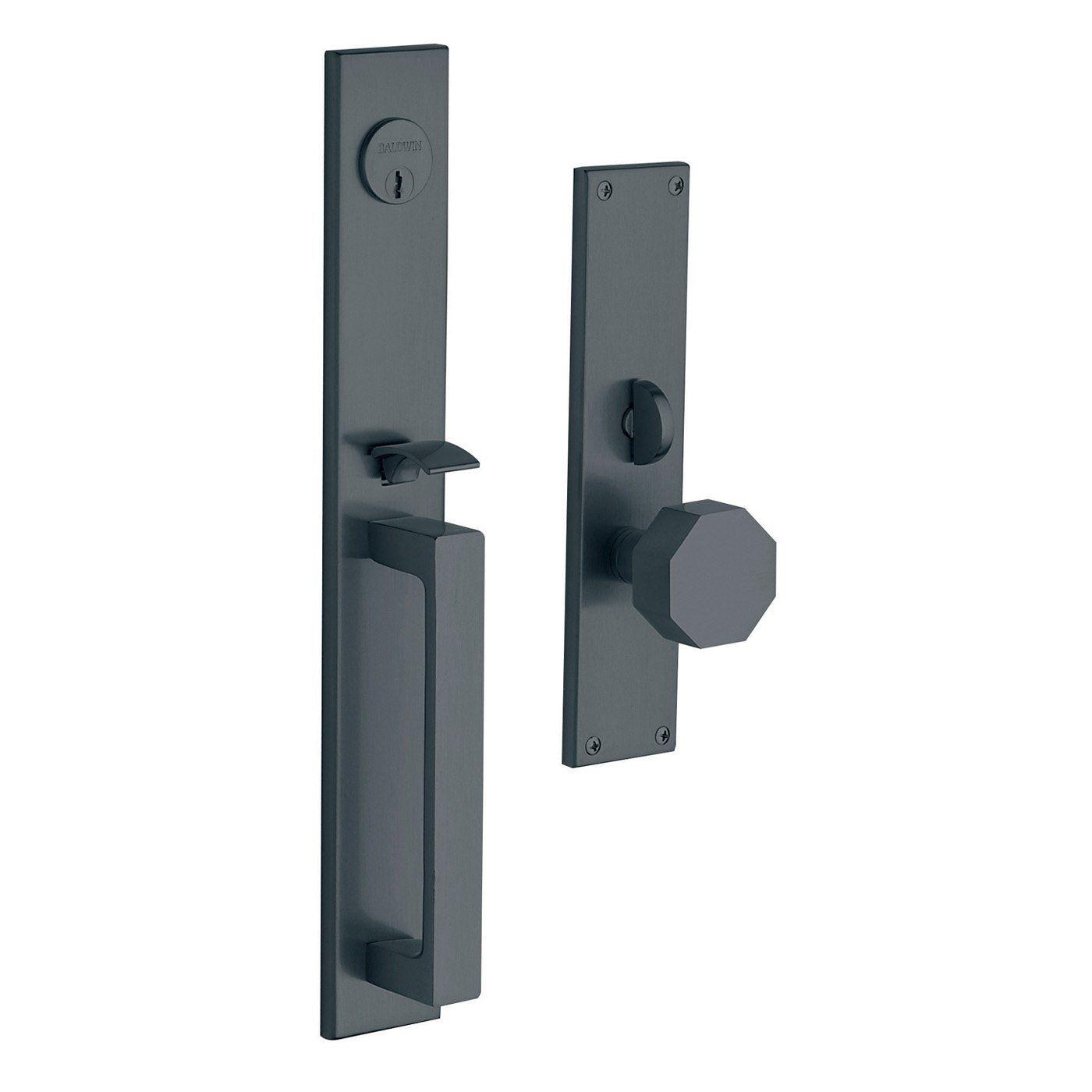 baldwin hardware 6570 atlanta set trim front door handle knobs