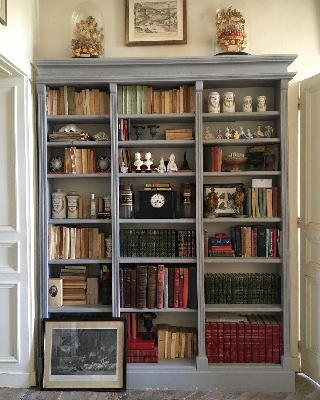 Classic Home Library Design: Bonjour From Deep In French Countryside. Woke Up With