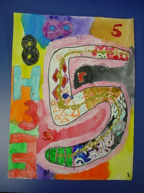 Mrs  Knight's Smartest Artists: kindergarten: pop art