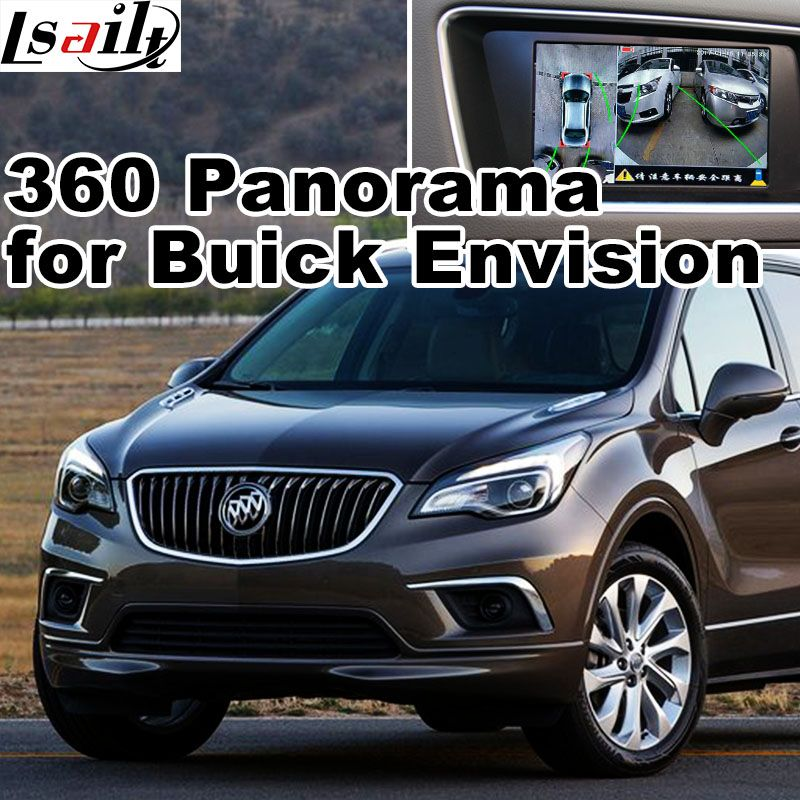 360 Panorama Rear View Interface For Buick Lacrosse Regal Enclave Encore Envision Lvds Rgb Signal Input Mirror Buick Envision Car Electronics Buick Lacrosse