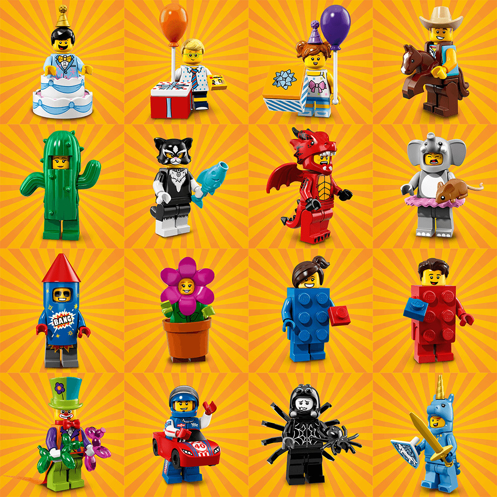 LEGO Minifigures Series 18 Party 71021 # 12 CAT COSTUME GIRL Brand New Lot 40