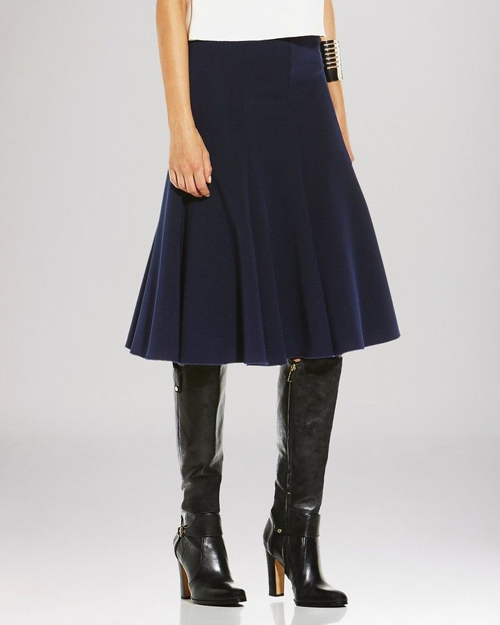 aedf6ff3e Vince Camuto Flared Midi Skirt on shopstyle.com.au | things to love ...