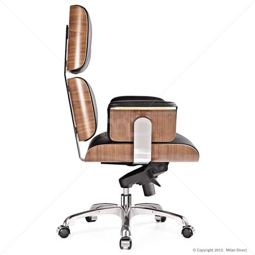 pollock executive chair replica leap accessories eames office interior inspiration