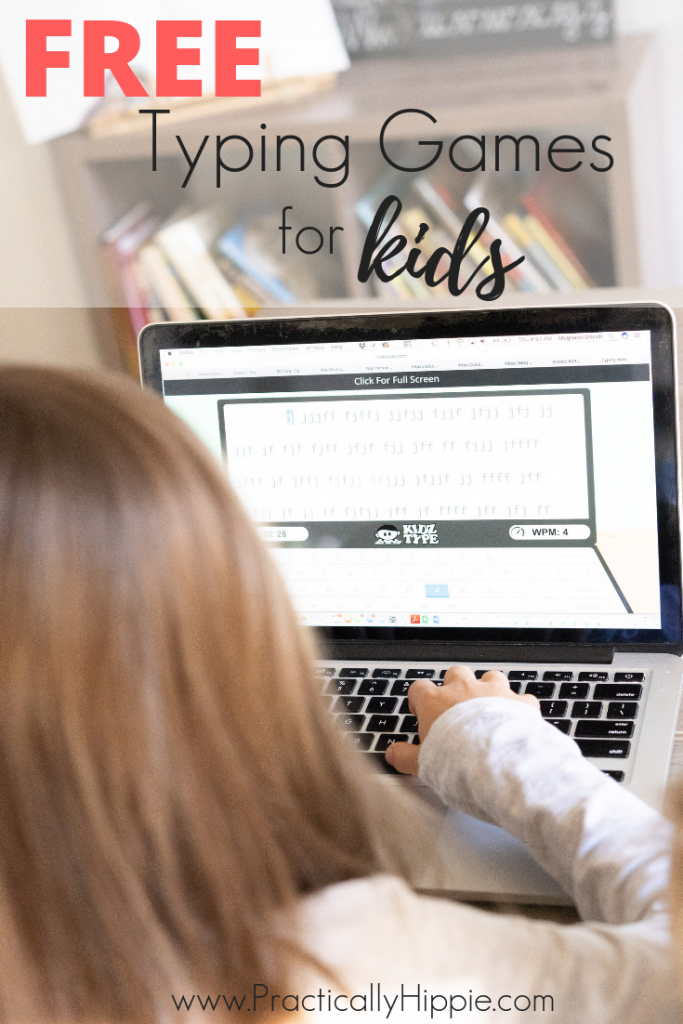 FREE online typing games for kids typing homeschool