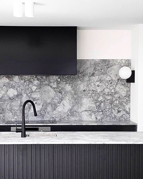 A Matte Black Kitchen Makes A Bold Statement In This: Meir Masters Modern Minimalism With Their Matte Black