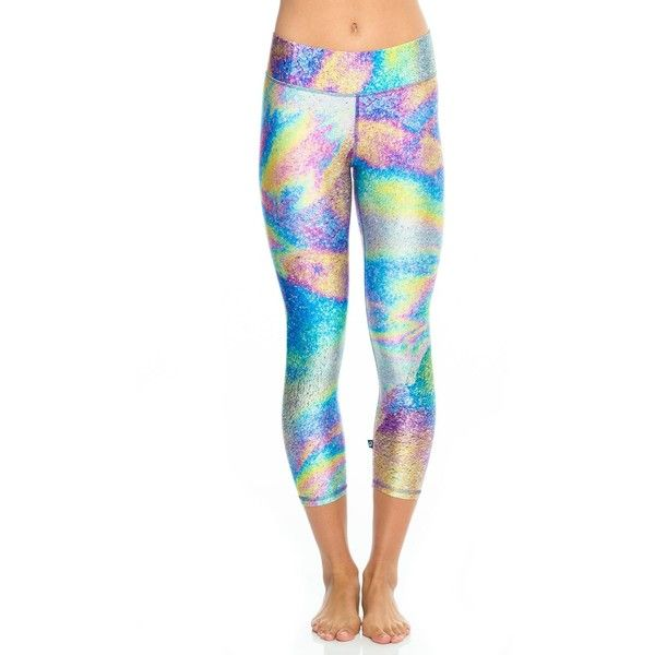 Best Wholesale Sale Online Geometric Oil-Slick Long Performance Leggings Terez Sale Cheap Prices Outlet Pay With Visa Online Shop From China Buy Cheap 100% Original HbnvuIb