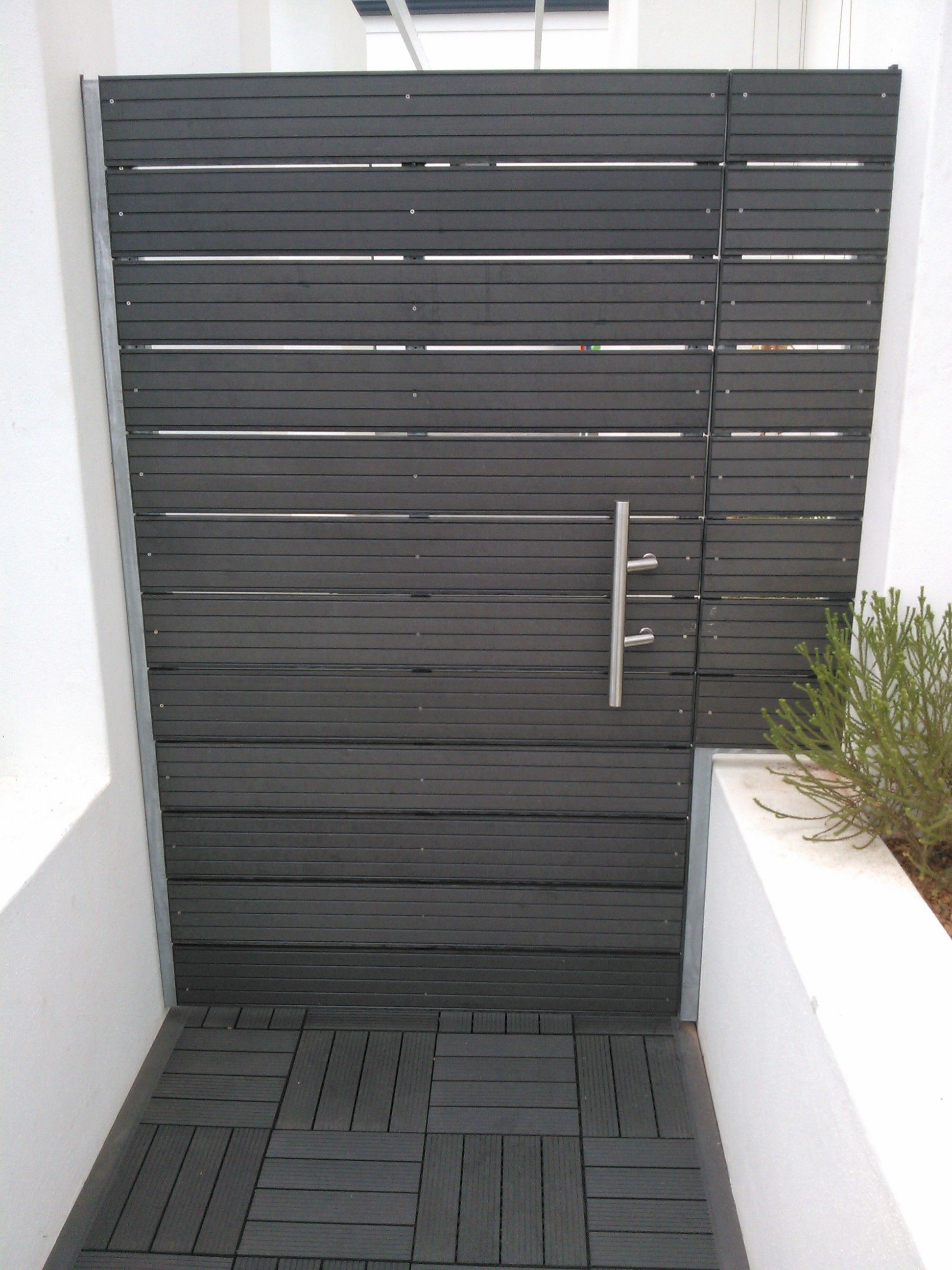 Composite Charcoal Grey Decking Amp Pergola In 2019