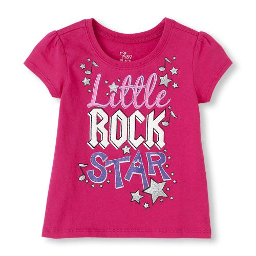 She can rock this tee any time! #children's place