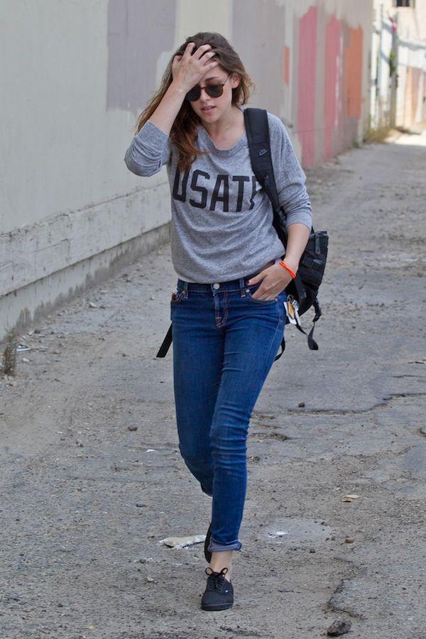 Kristen Stewart: casual
