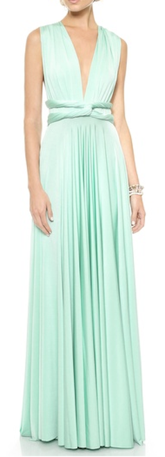 gorgeous maxi dress that can be worn 15 different ways  http://rstyle.me/n/mps8spdpe