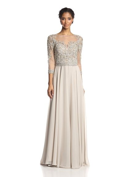 Terani Couture Womens Chiffon Evening Gown, http://www