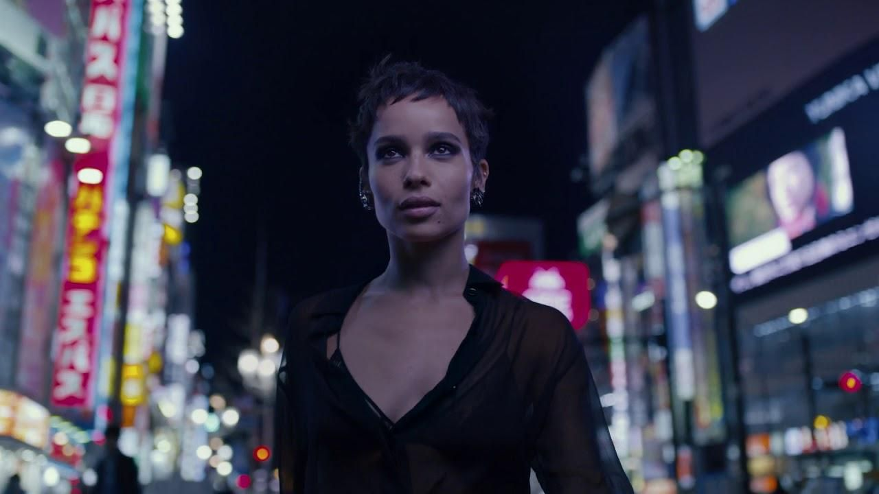 424b5139e5a ... created by BETC Luxe, France for Yves Saint Laurent, within the  category: Fashion. | fashion films & movies | Ysl black opium, Zoe kravitz,  …