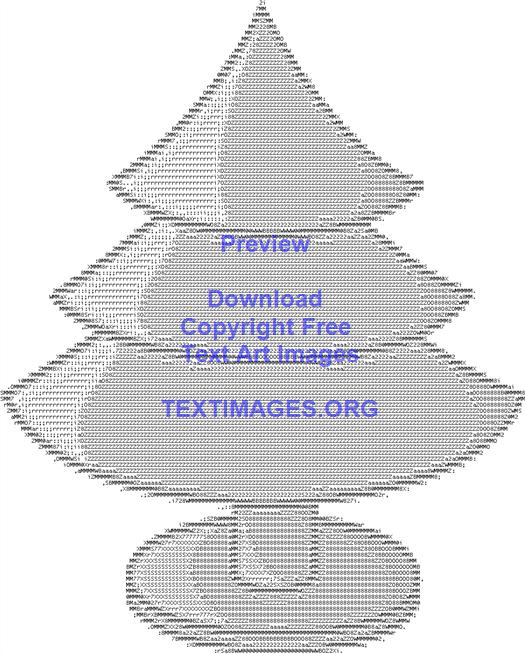 Green Round Base Brown Christmas Tree Circle Christmas Tree Ascii Art Circle