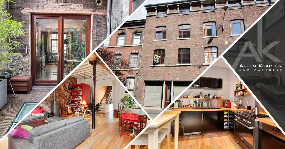 charmante maison atypique avec double garage et bureau