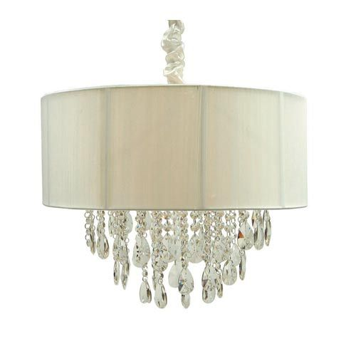 creative creations lighting. Fine Creations Creative Creations Lighting Rovello Iron Five Light Crystal Drum Pendant  With White Shade Intended Creative Creations Lighting
