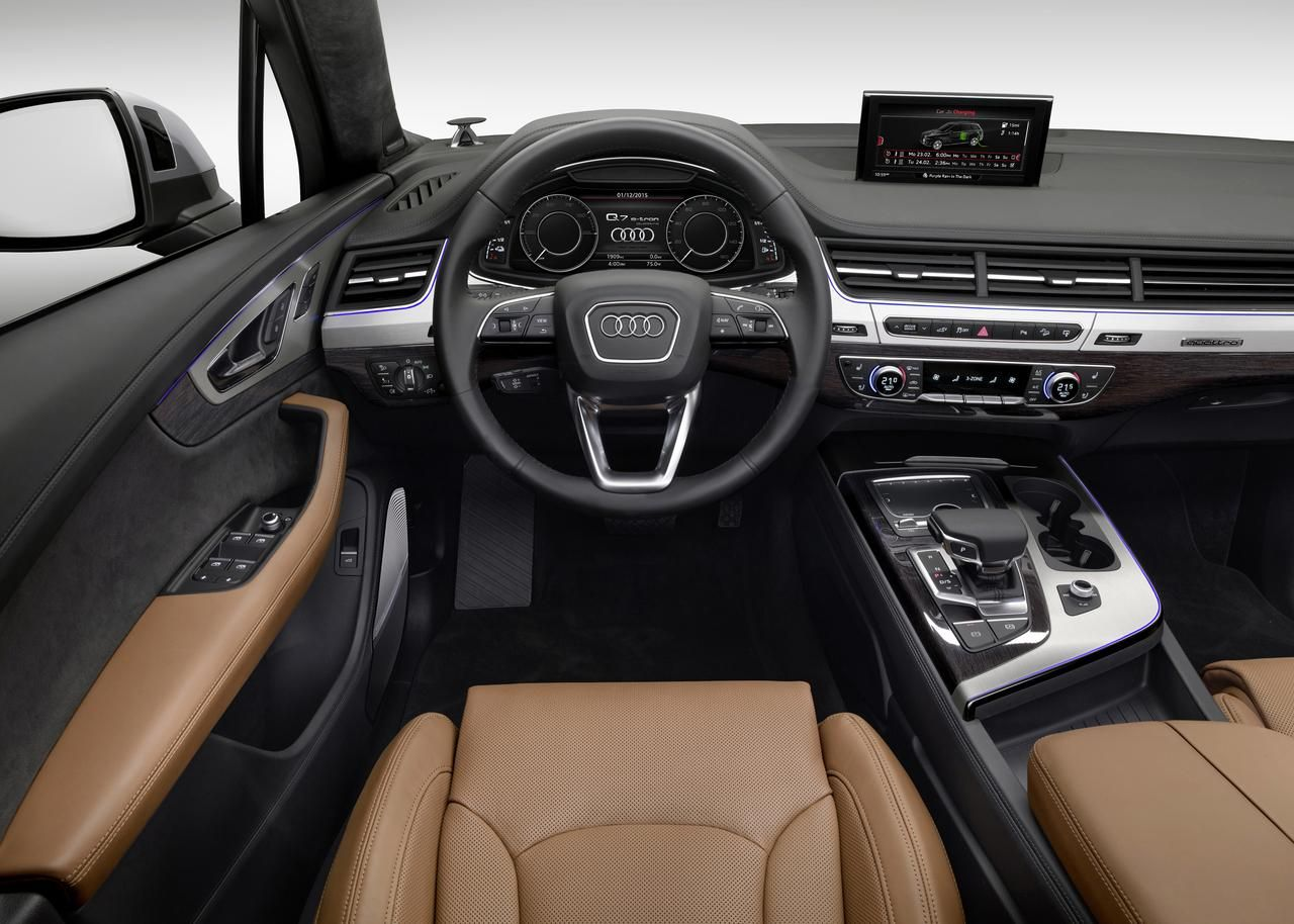 Audi Values In Car Tech As Much As Performance News Digital Trends Audi Q7 Interior Audi Q7 Tdi Audi Q7 Audi q7 50 tdi quattro 2019 4k