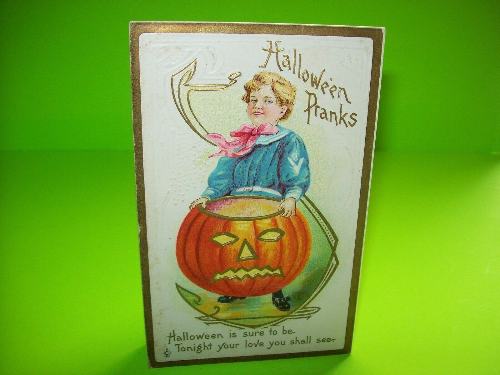 Pin on Halloween Postcards & Spooky Cool Items