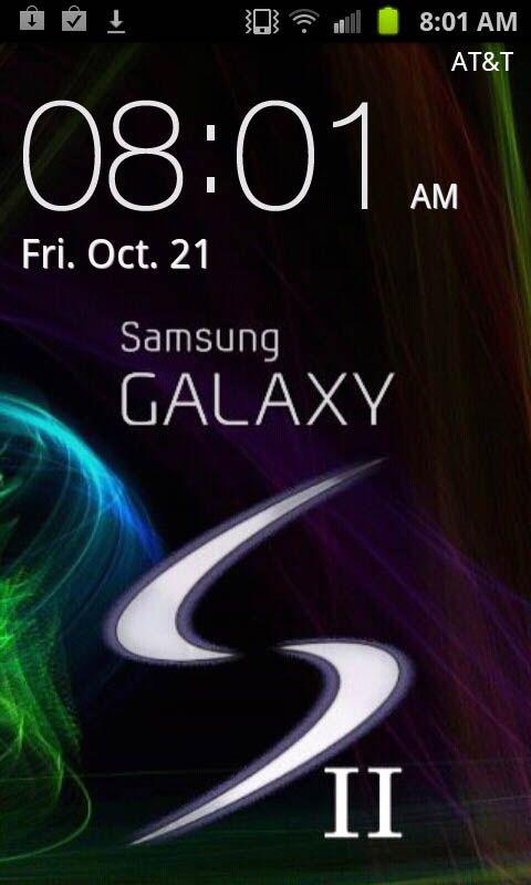 Galaxy S2 Lock Screen Wallpaper Size