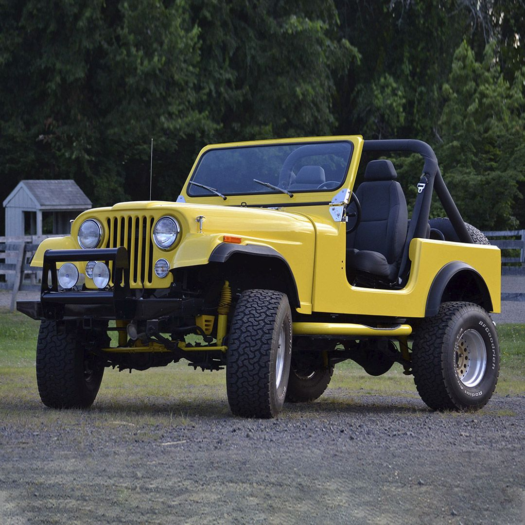 PALM BEACH AUCTION PREVIEW: This 1984 Jeep CJ7 Resto-Mod