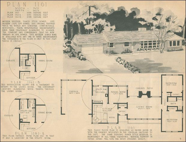 Wonderful 1950 Home Design | Planning Or Dreaming? Homes U2014 1950 Homes By The Home  Building